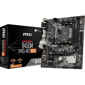 MSI B450M PRO-M2 MAX Desktop Motherboard