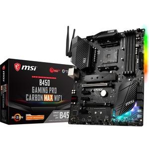 MSI B450 GAMING PRO CARBON MAX WIFI Desktop Motherboard