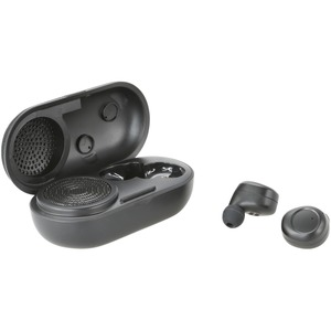 iLive Truly Wire-Free Earbuds with Charging Case and Speaker (IAEBTS410B)