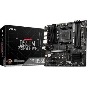 MSI B550M PRO-VDH WIFI Desktop Motherboard