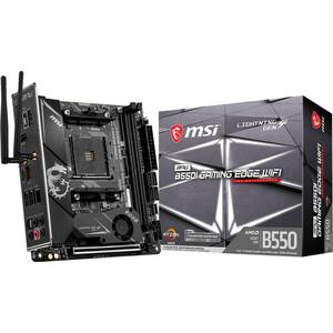 MSI MPG B550I GAMING EDGE WIFI Desktop Motherboard