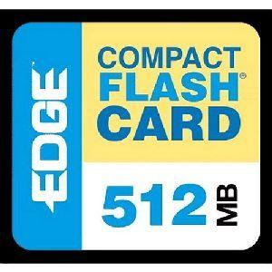 EDGE Tech 512MB Digital Media CompactFlash Card