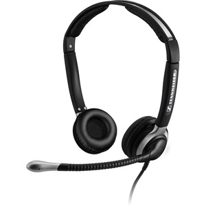 Open Box: Open Box: Binaural Headset with Ultra Noise Canceling Boom Microphone - 46mm padded ear caps
