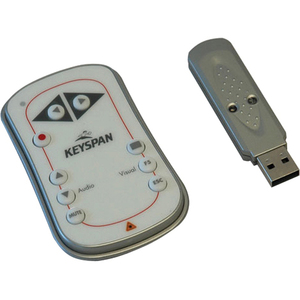 Tripp Lite Keyspan Easy Presenter Wireless Remote Control w/ Laser / Audio White 60ft