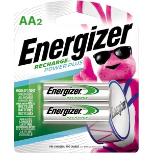 Energizer NH15BP-2 AA Nickel-metal Hydride Rechargeable Battery
