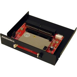 "Addonics DigiDrive Internal IDE CompactFlash Card Reader/Writer 3.5"" - Black"