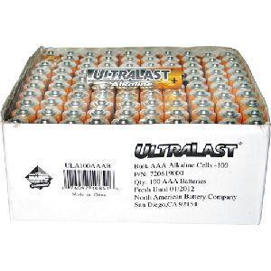 Alkaline Battery Bulk Pack
