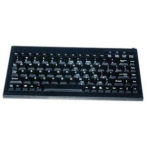 Solidtek Mini 88 Keys POS Keyboard Black USB KB-595BU