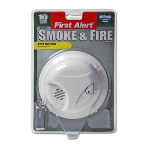 DC SMOKE ALARM W/SILENT FEATUR