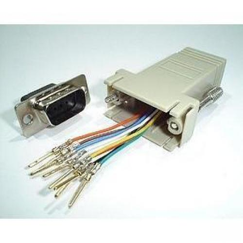 Digi RJ45 to DB-9 Console Adapter