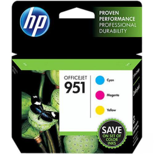 HP 951 Original Ink Cartridge - Cyan, Magenta, Yellow