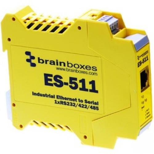 Brainboxes Industrial Ethernet to Serial 1xRS232/422/485