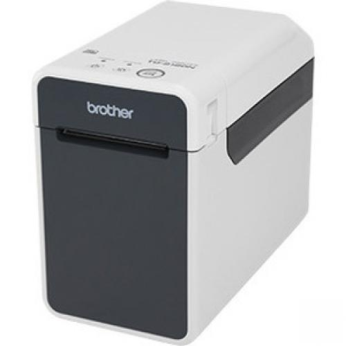 Brother TD-2120N Desktop Direct Thermal Printer - Monochrome - Receipt Print - Ethernet - USB - Serial
