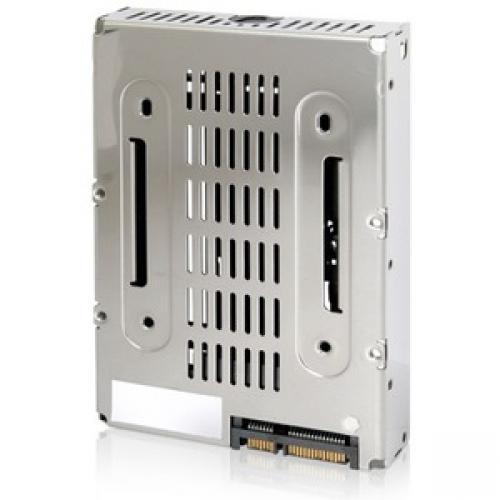 Icy Dock EZConvert Air MB382SP-3B Drive Bay Adapter Internal - Chrome, Black