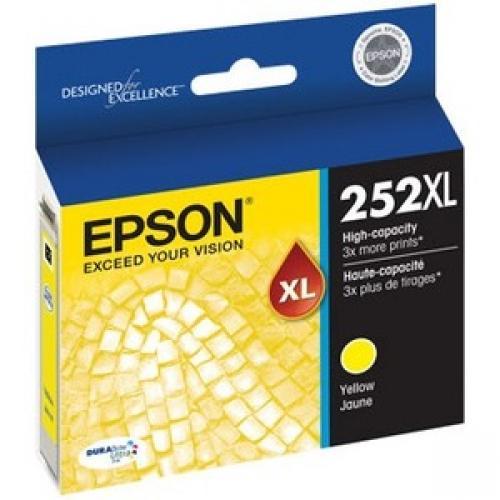 Epson DURABrite Ultra 252XL Original Ink Cartridge - Yellow