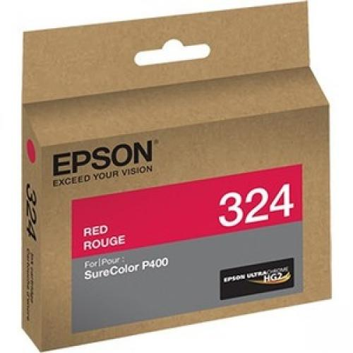 Epson UltraChrome 324 Original Ink Cartridge - Red