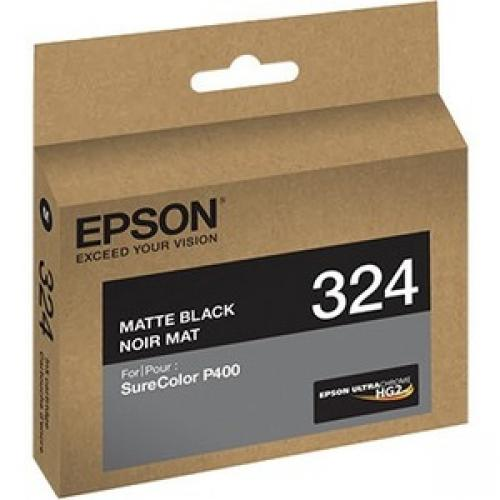 Epson UltraChrome 324 Original Ink Cartridge - Matte Black