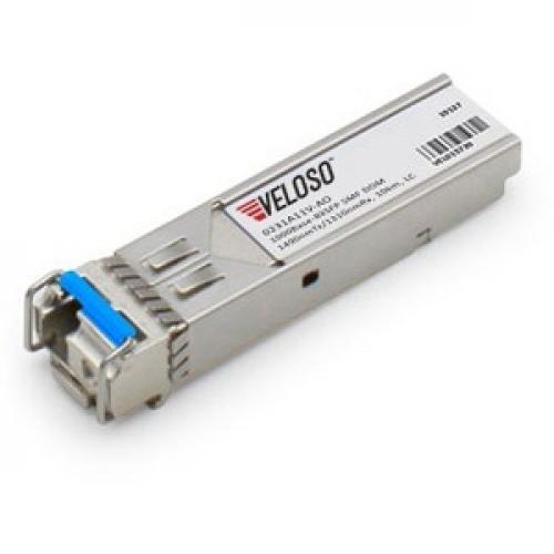AddOn Huawei 0231A11V Compatible TAA Compliant 1000Base-BX SFP Transceiver (SMF, 1490nmTx/1310nmRx, 10km, LC, DOM)