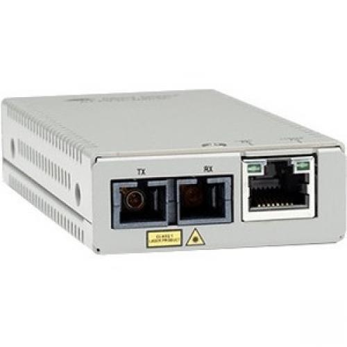 Allied Telesis MMC200/SC Transceiver/Media Converter