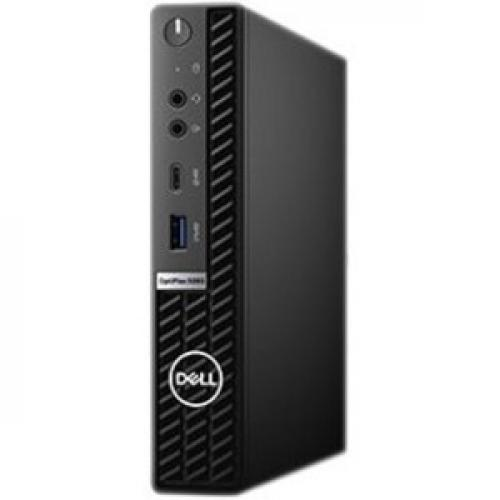 Dell OptiPlex 5000 5080 Desktop Computer - Intel Core i5 10th Gen i5-10500T Hexa-core (6 Core) 2.30 GHz - 8 GB RAM DDR4 SDRAM - 128 GB SSD - Micro PC