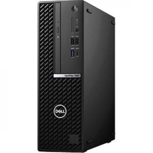 Dell OptiPlex 7000 7080 Desktop Computer - Intel Core i7 10th Gen i7-10700 Octa-core (8 Core) 2.90 GHz - 8 GB RAM DDR4 SDRAM - 256 GB SSD - Small Form Factor