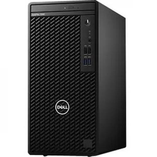 Dell OptiPlex 3000 3080 Desktop Computer - Intel Core i5 10th Gen i5-10500 Hexa-core (6 Core) 3.10 GHz - 8 GB RAM DDR4 SDRAM - 1 TB HDD - Tower