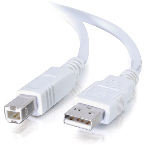 C2G 5m USB 2.0 A/B Cable - White