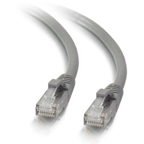 C2G 14ft Cat5e Snagless Unshielded (UTP) Network Patch Ethernet Cable Gray 300/500