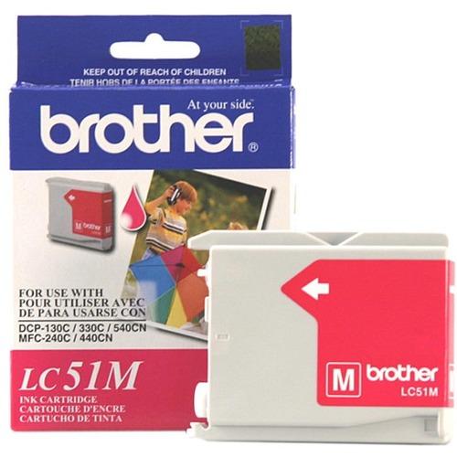 Brother LC51M Original Ink Cartridge 300/500