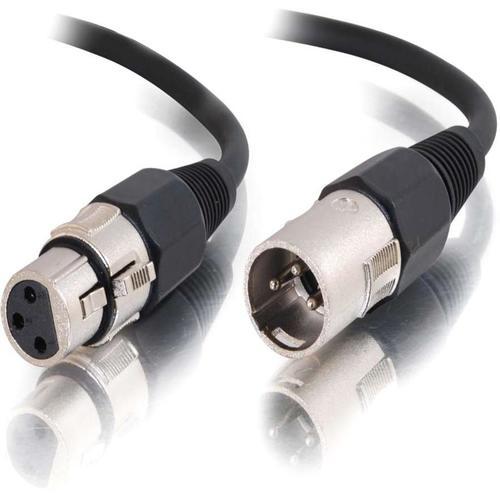 C2G 12ft Pro-Audio XLR Male to XLR Female Cable