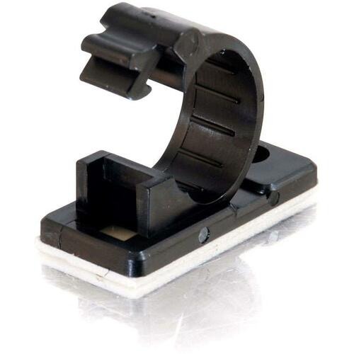 C2G .68in Self-Adhesive Cable Clamp - 50pk