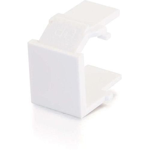 C2G Snap In Blank Keystone Insert Module   White 300/500