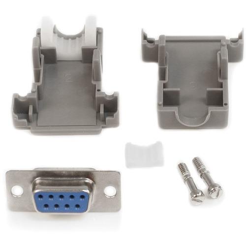 StarTech.com StarTech.com Solder D-SUB - Assembled - Plastic Backshell Serial / parallel connector - DB-9 (F)