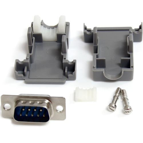 StarTech.com StarTech.com Solder D-SUB - Assembled - Plastic Backshell Serial / parallel connector - DB-9 (M)