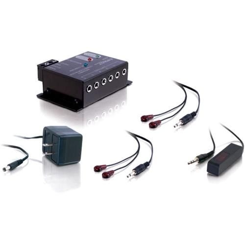 C2G Infrared (IR) Remote Control Repeater Kit 300/500
