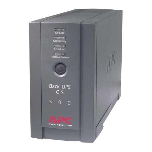 APC Back UPS CS 500VA Tower UPS 300/500