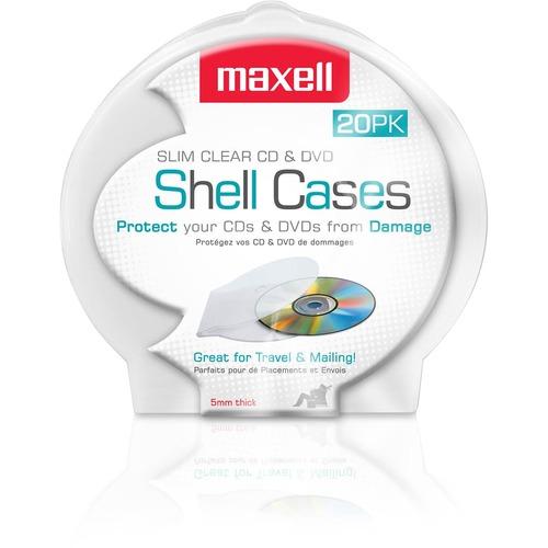 Maxell CD 356 Slim CD/DVD Jewel Case 300/500