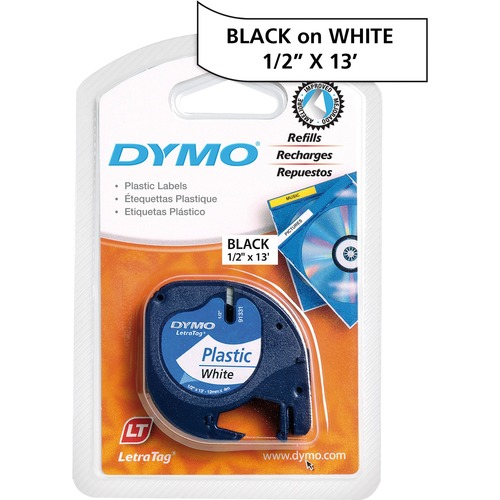 Dymo LetraTag Label Maker Tape Cartridge 300/500