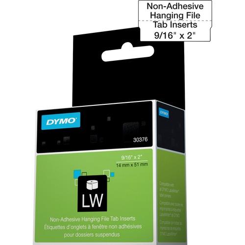Dymo Hanging File Tab Inserts 300/500