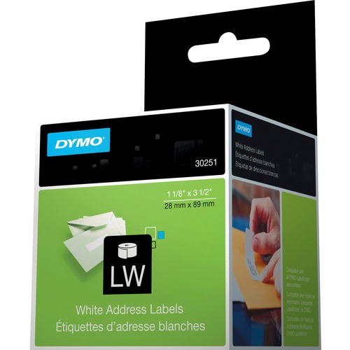 Dymo White Address Labels 300/500