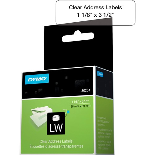 Dymo Clear Address Labels 300/500