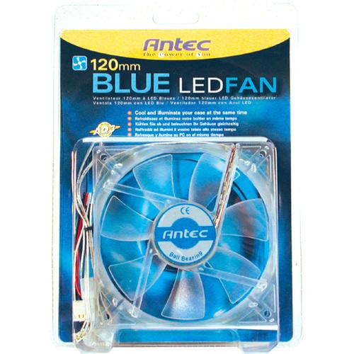 120MM BLUE LED FAN