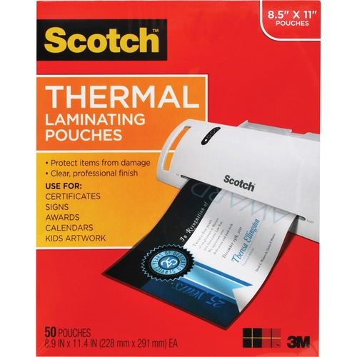 Scotch Thermal Laminating Pouches 300/500