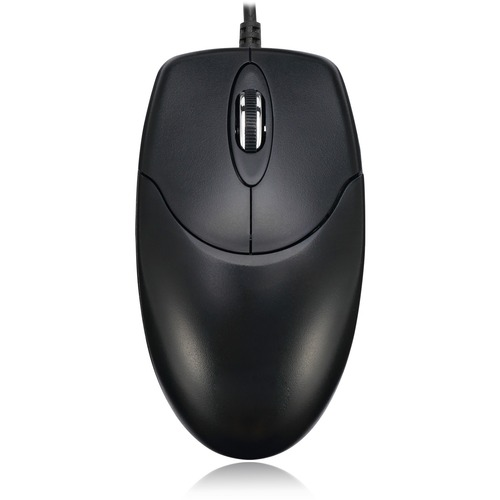 Adesso HC-3003PS - 3 Button Desktop Optical Scroll Mouse (PS/2)