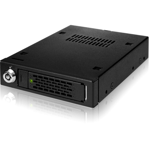 ICY DOCK MB991IK-B 2.5? SATA/SAS HDD & SSD Mobile Rack For 3.5? Device Bay - Full Metal