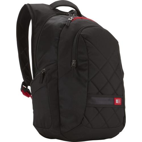 """Case Logic DLBP-116BLACK Carrying Case (Backpack) for 16"""" Notebook - Black"""