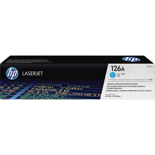 HP 126A   CE311A   Toner Cartridge   Cyan 300/500