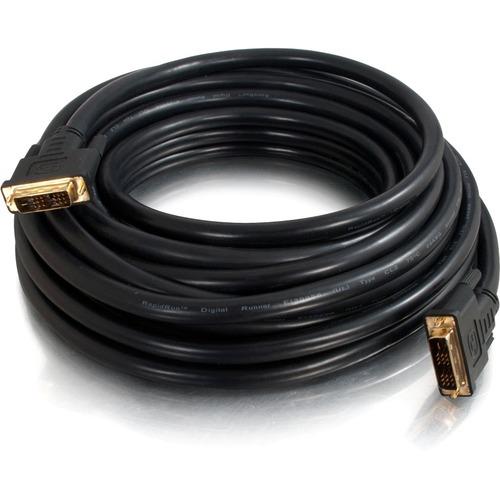 C2G 6ft Pro Series DVI D CL2 M/M Single Link Digital Video Cable 300/500