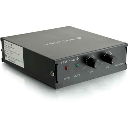 C2G TruLink Audio Amplifier (Plenum Rated) 300/500