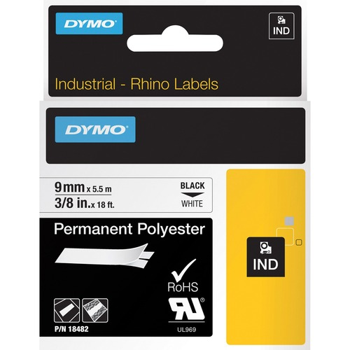 Dymo Rhino Permanent Poly Labels 300/500